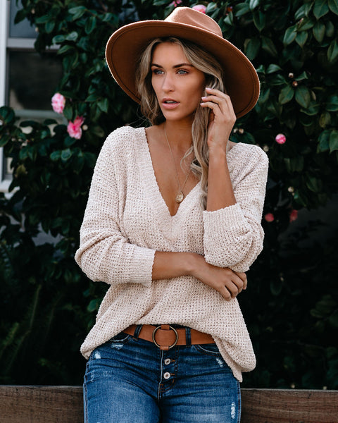 Winding Down V-Neck Sweater - FINAL SALE