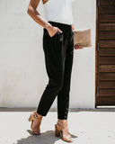 Working Girl Everyday Pocketed Work Pants - FINAL SALE