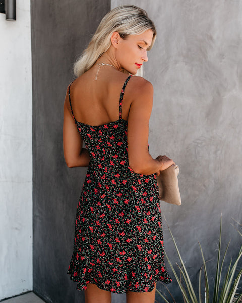Xavier Floral Tie Front Dress - FINAL SALE
