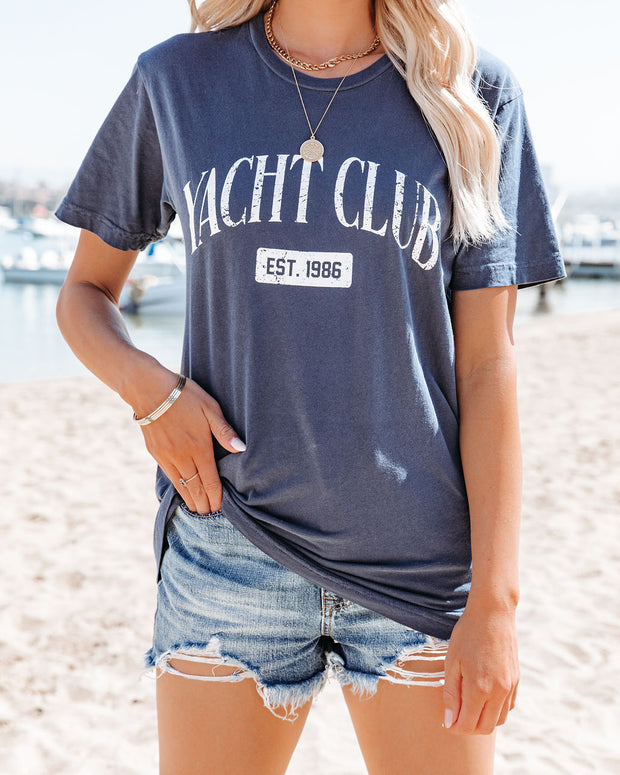 Yacht Club Cotton Tee view 5