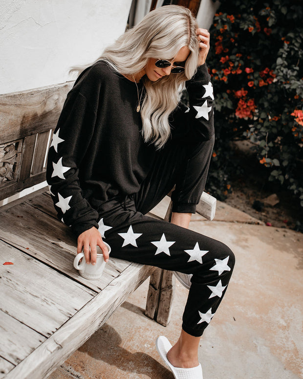 You'll Be A Star Knit Joggers view 5