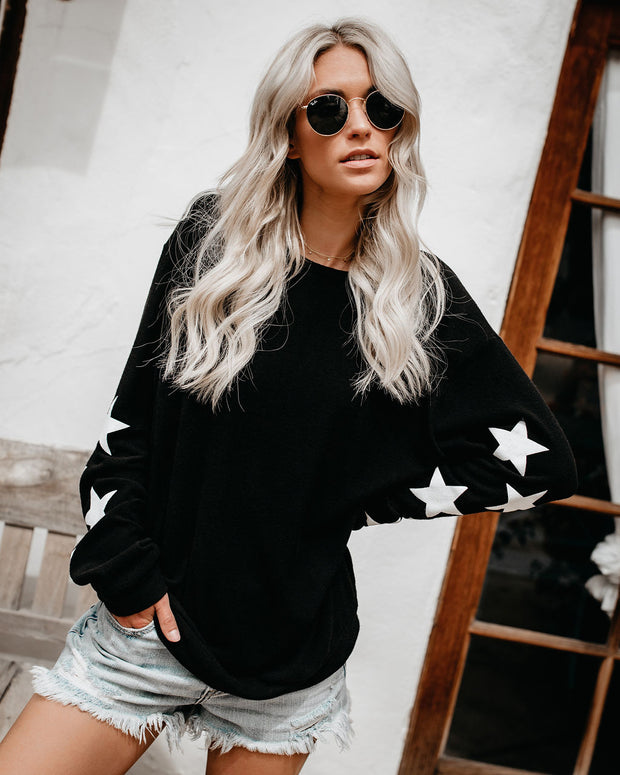 You'll Be A Star Knit Pullover view 4