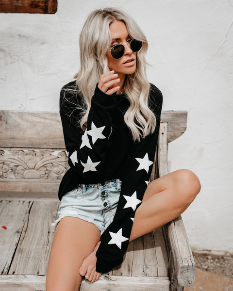 You'll Be A Star Knit Pullover