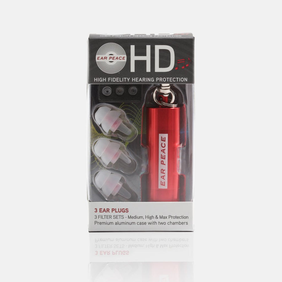 EarPeace HD (耳栓音楽用) - Musicians Ear Plugs - EarPeace Japan