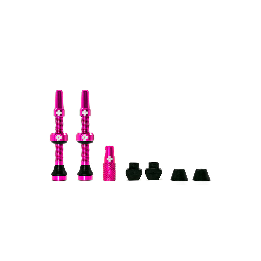 Tubeless Valves Pink 44mm