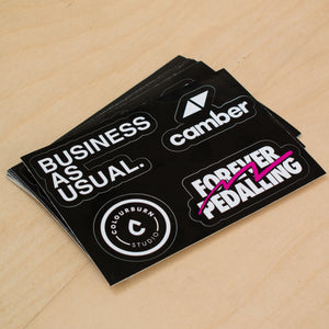 Business As Usual Sticker Sheet