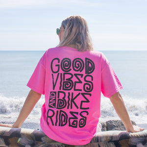 Good Vibes T-Shirt Bubblegum