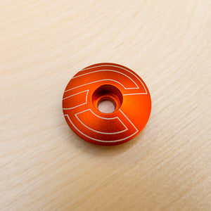 Cinelli Top Cap Orange