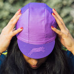 3 Panel Fade Cap Purple