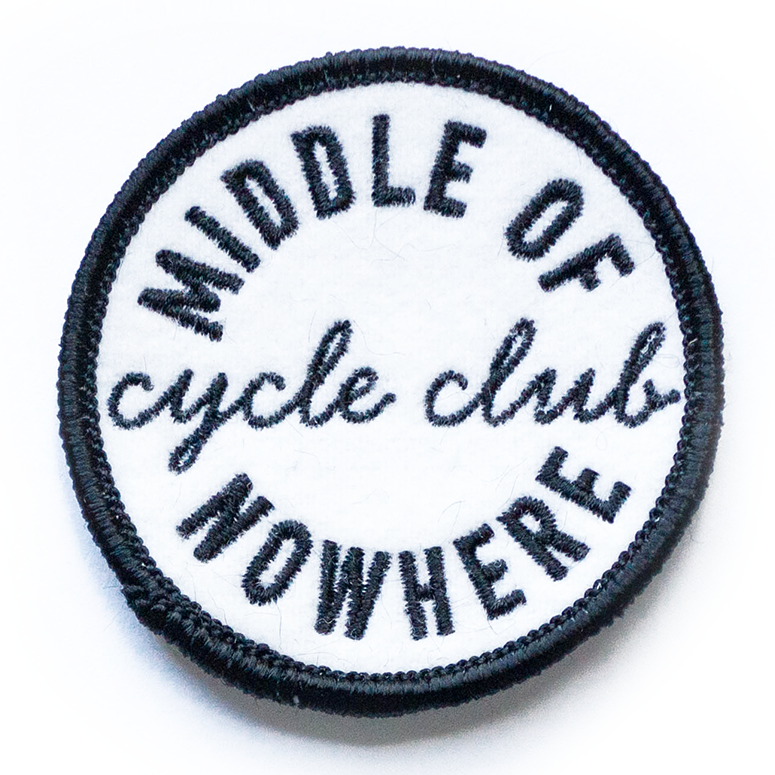 Cycle Club Patch