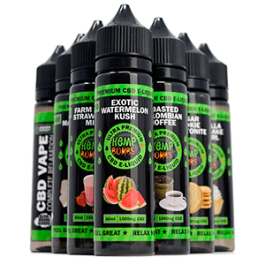 Hemp Bomb CBD E-Liquid 300mg 60ml