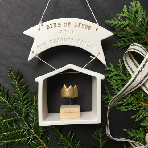 2019 Commemorative House Christmas Ornament by Paloma's Nest