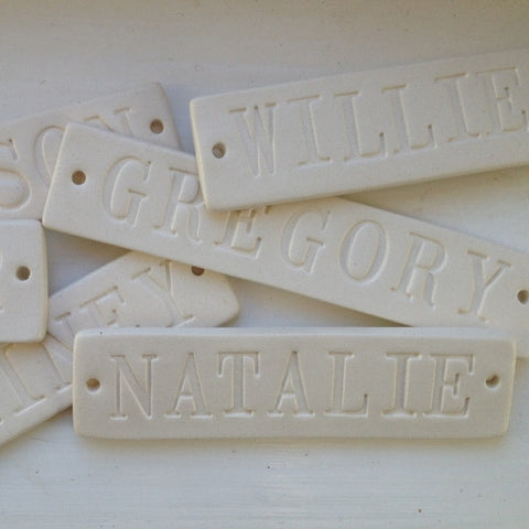 Add a Name Tile to Your Furniture Piece