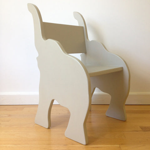 CHILD'S ELEPHANT ANIMAL CHAIR- your choice of color
