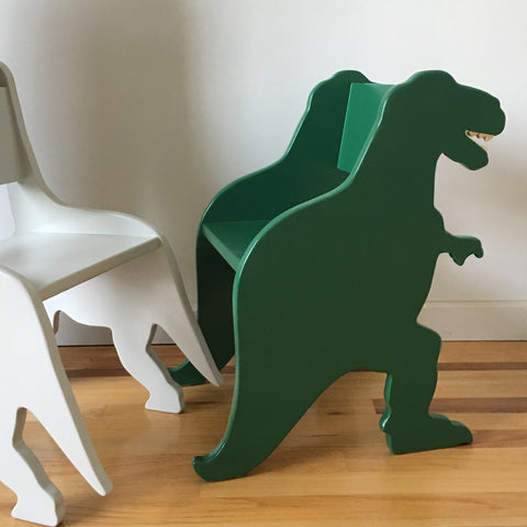 CHILD'S T-REX DINOSAUR CHAIR - your choice of color