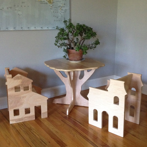 Children's Play Table and Chair Set by Paloma's Nest