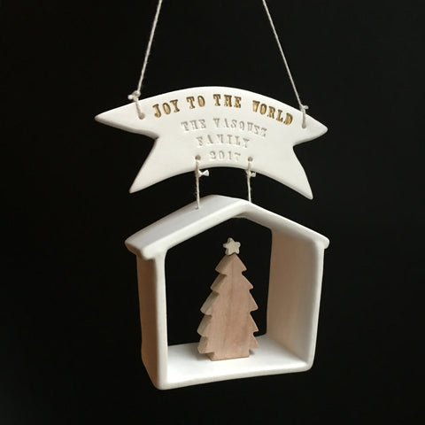 2017 Commemorative House Christmas Ornament by Paloma's Nest
