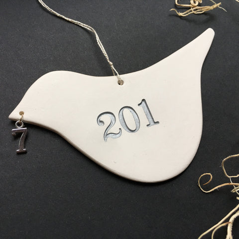2017 Commemorative Dove Ornament from Paloma's Nest