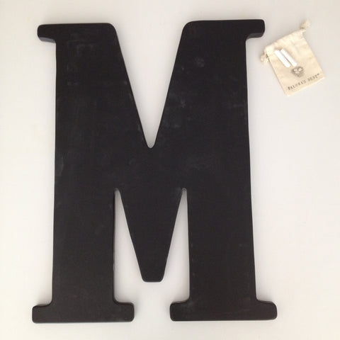 New! ALPHABET CHALKBOARD in your choice of letter