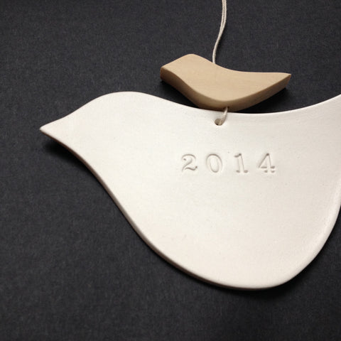 2014 commemorative dove ornament