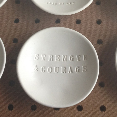 strength and courage bowl by paloma's nest