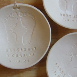 CUSTOM baby keepsake bowl/ ornament