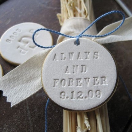 Bouquet Charm Handcrafted with Personalized Words by Paloma's Nest