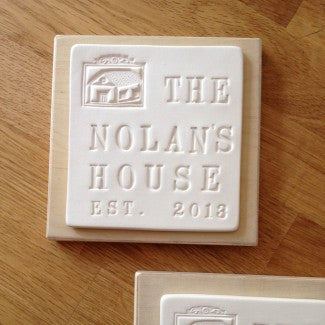 CUSTOM HOUSE PLAQUE PERSONALIZED with your family name