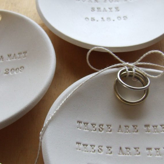 c981a51e7f5d4 CUSTOM Ring Bearer Bowl with Personalized Text by Paloma's Nest ...