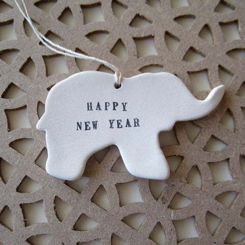 CUSTOM Stamped Animal Ornament