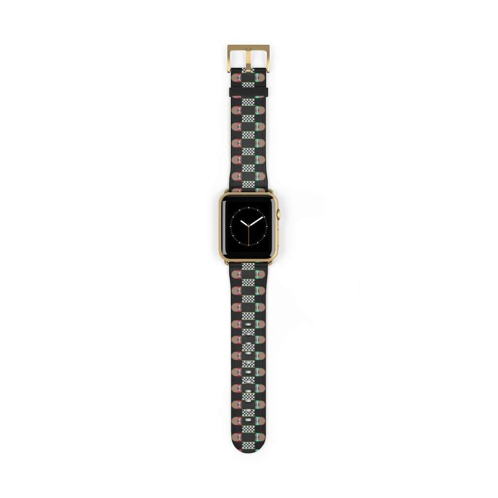 Plumskum Accessories 42 mm / Gold Matte Skateboard Bandolier Apple Watch Band