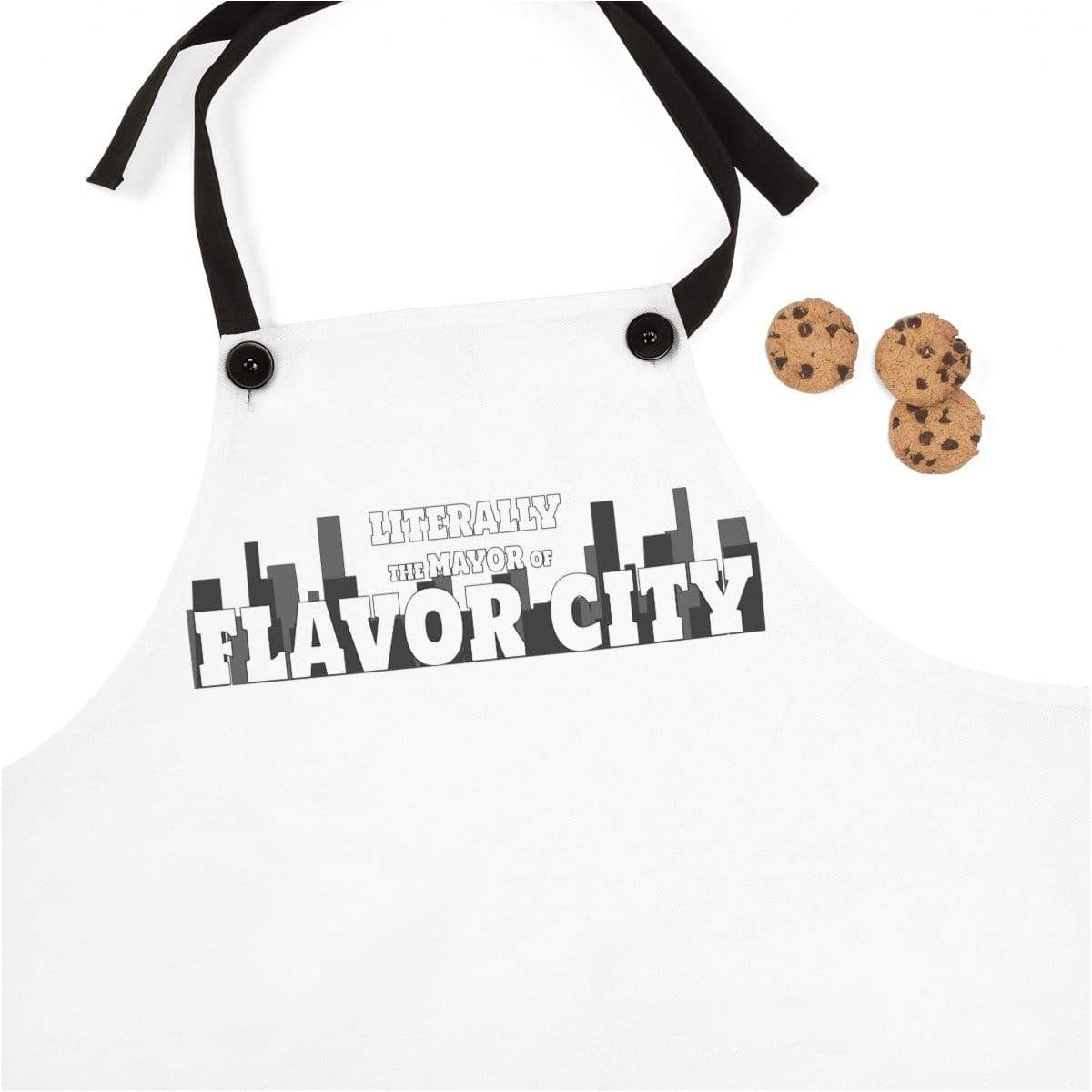 Plumskum Accessories One Size Literally Mayor of Flavor City Official Apron
