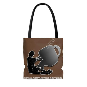 Plumskum Bags Coffee Aesthetic Coffee Co. AOP Cafe Tote Bag