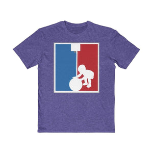 Plumskum Clothing > Men's Clothing > Shirts & Tees > T-shirts XS / Classic Red Baller In Training Nba Logo Inspired Basketball Tee