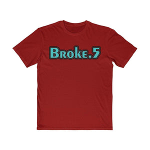 Plumskum Clothing > Men's Clothing > Shirts & Tees > T-shirts XS / Classic Red Broke and A Half - Vintage Lettering T-Shirt