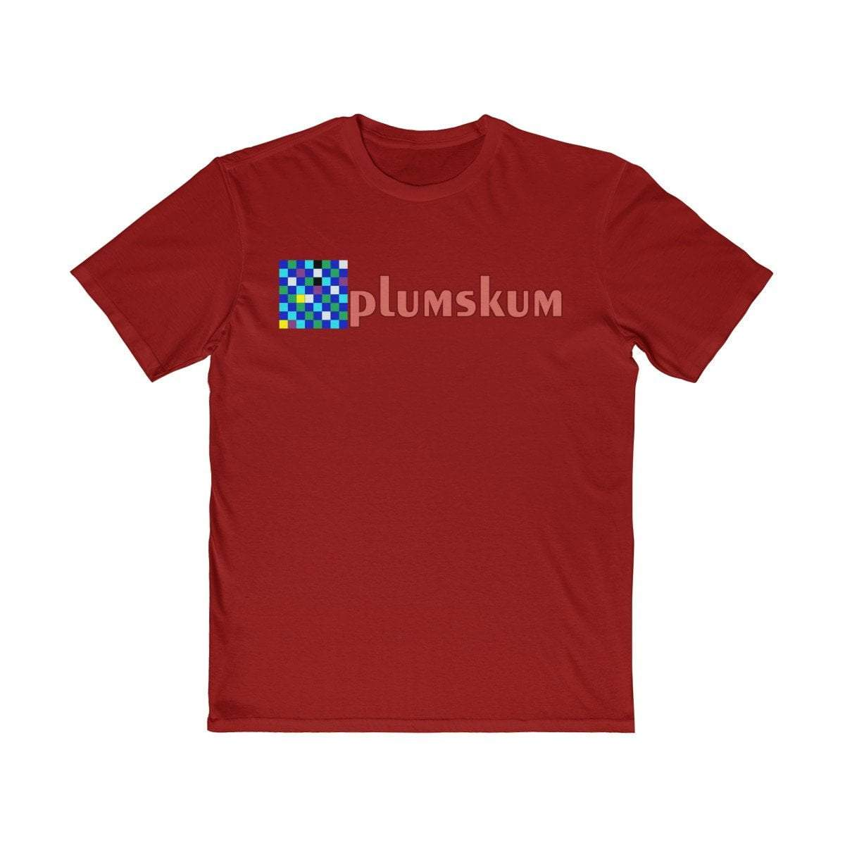 Plumskum Clothing > Men's Clothing > Shirts & Tees > T-shirts XS / Classic Red Falsches Schach - Wrong Chess - Original Art Deco Artwork T-Shirt - Pink