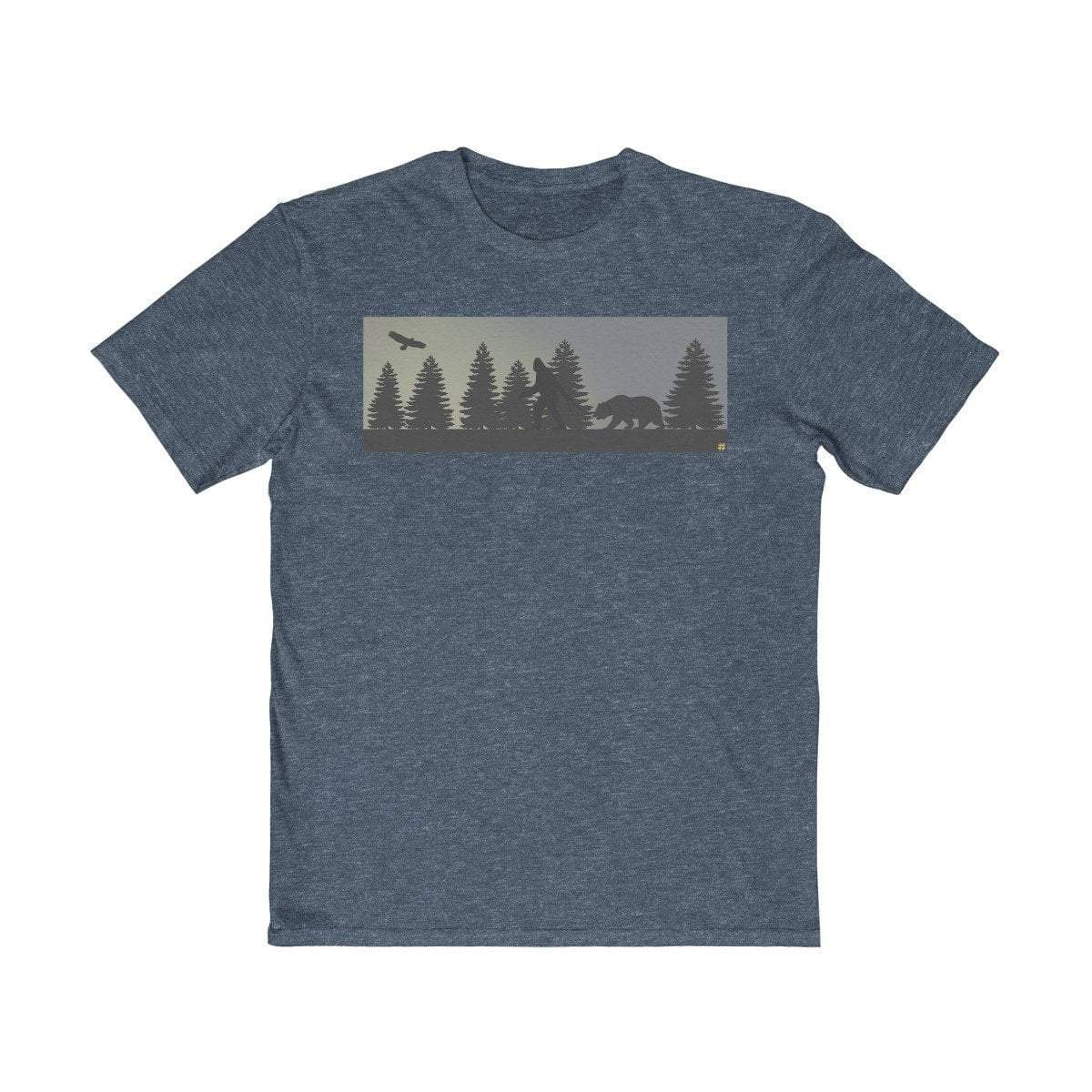 Plumskum Clothing > Men's Clothing > Shirts & Tees > T-shirts XS / Classic Red No Bigfoot DoesnT Have A I Saw Bigfoot Walking TShirt