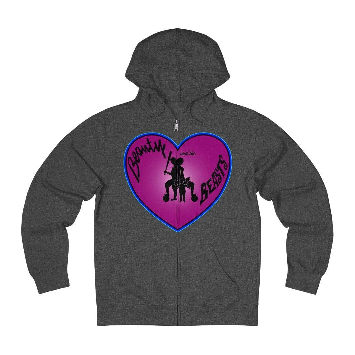 Plumskum Hoodie Charcoal Heather / L Sports Mother of Twins + French Terry Zip Hoodie