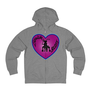 Plumskum Hoodie Graphite Heather / XS Sports Mother of Twins + French Terry Zip Hoodie