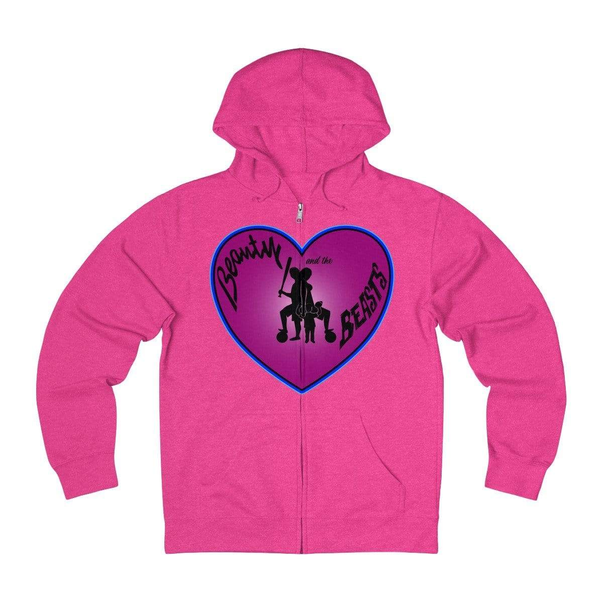 Plumskum Hoodie Heliconia Heather / XS Sports Mother of Twins + French Terry Zip Hoodie