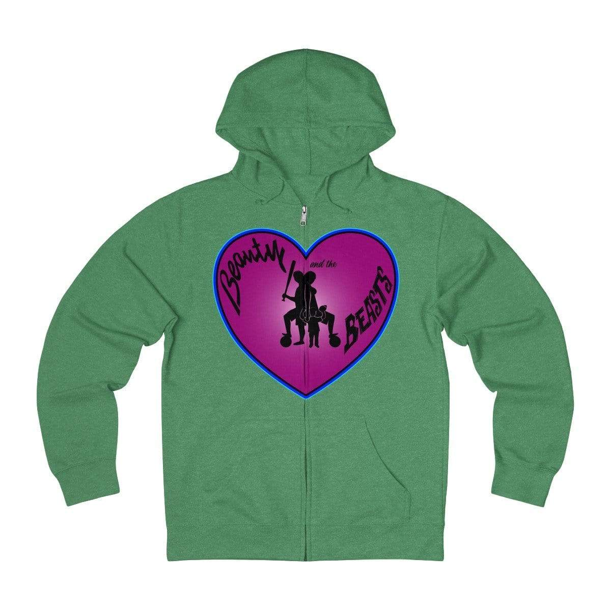 Plumskum Hoodie Kelly Heather / XS Sports Mother of Twins + French Terry Zip Hoodie