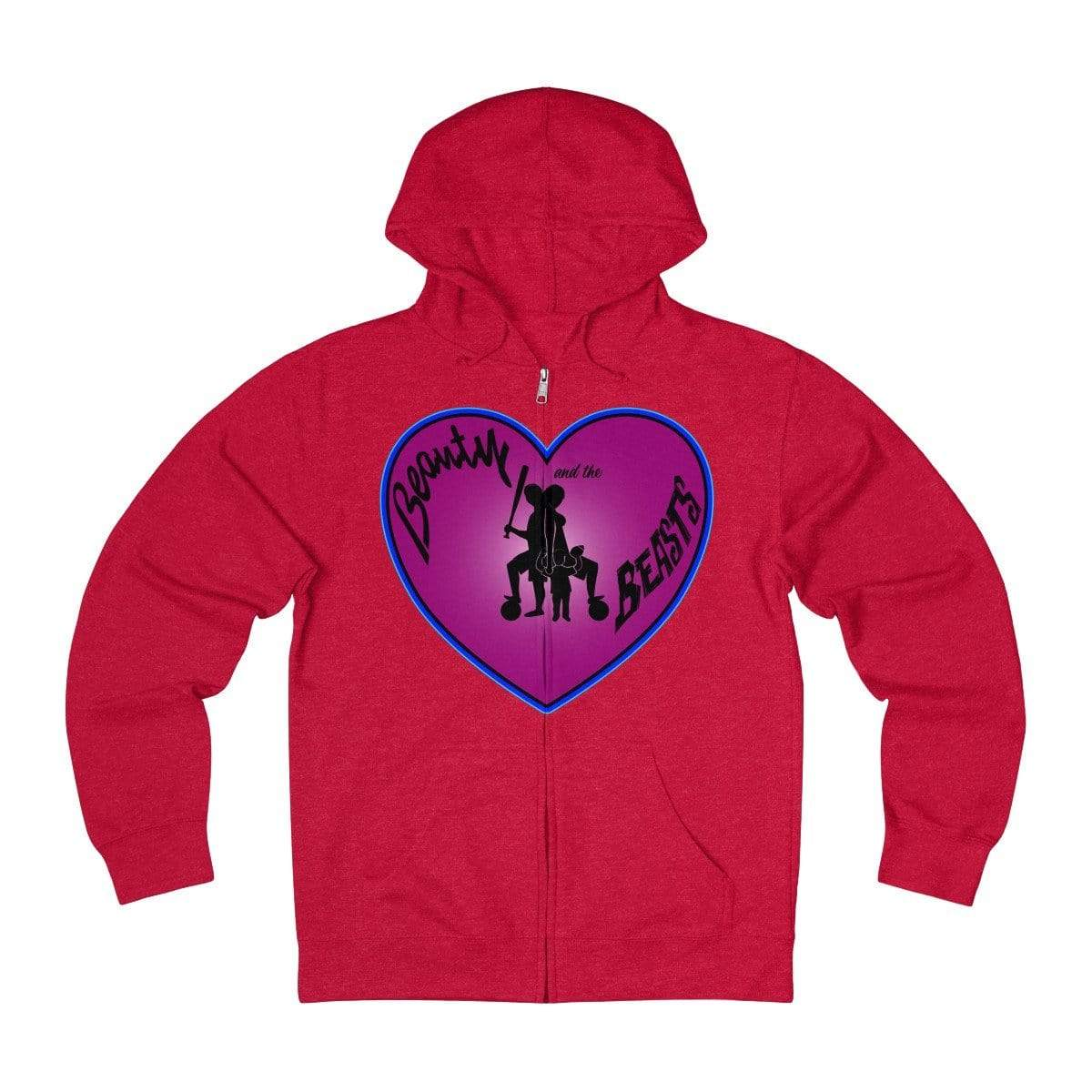 Plumskum Hoodie Red Heather / XS Sports Mother of Twins + French Terry Zip Hoodie
