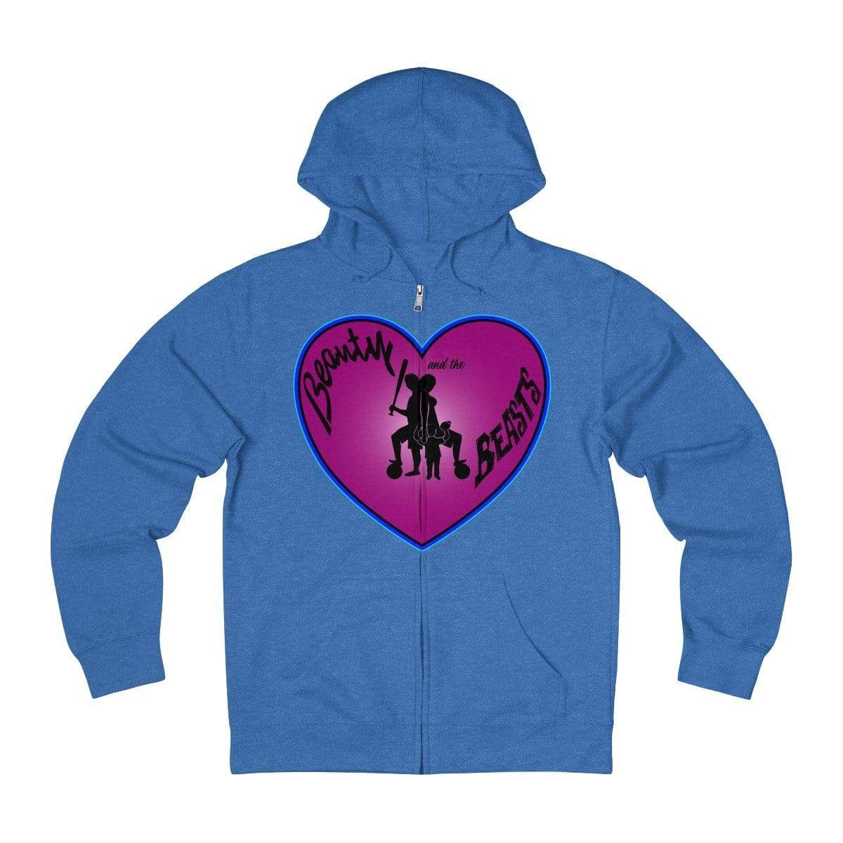 Plumskum Hoodie Royal Heather / XS Sports Mother of Twins + French Terry Zip Hoodie