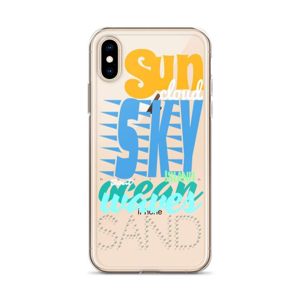 Plumskum Imagination Beach iPhone Cases