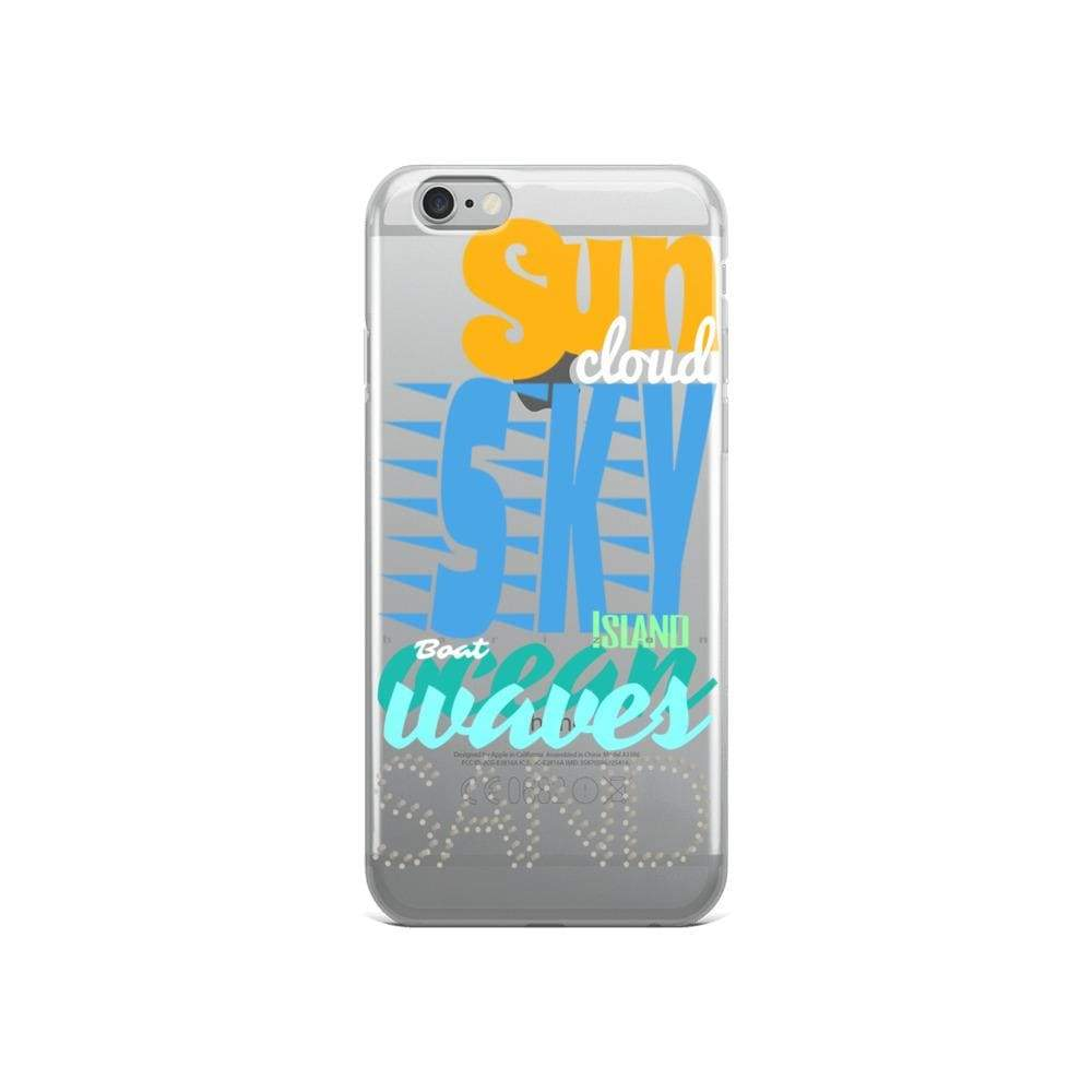 Plumskum iPhone 6/6s Imagination Beach iPhone Cases