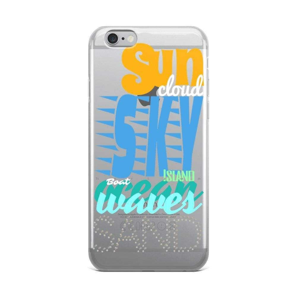 Plumskum iPhone 6 Plus/6s Plus Imagination Beach iPhone Cases