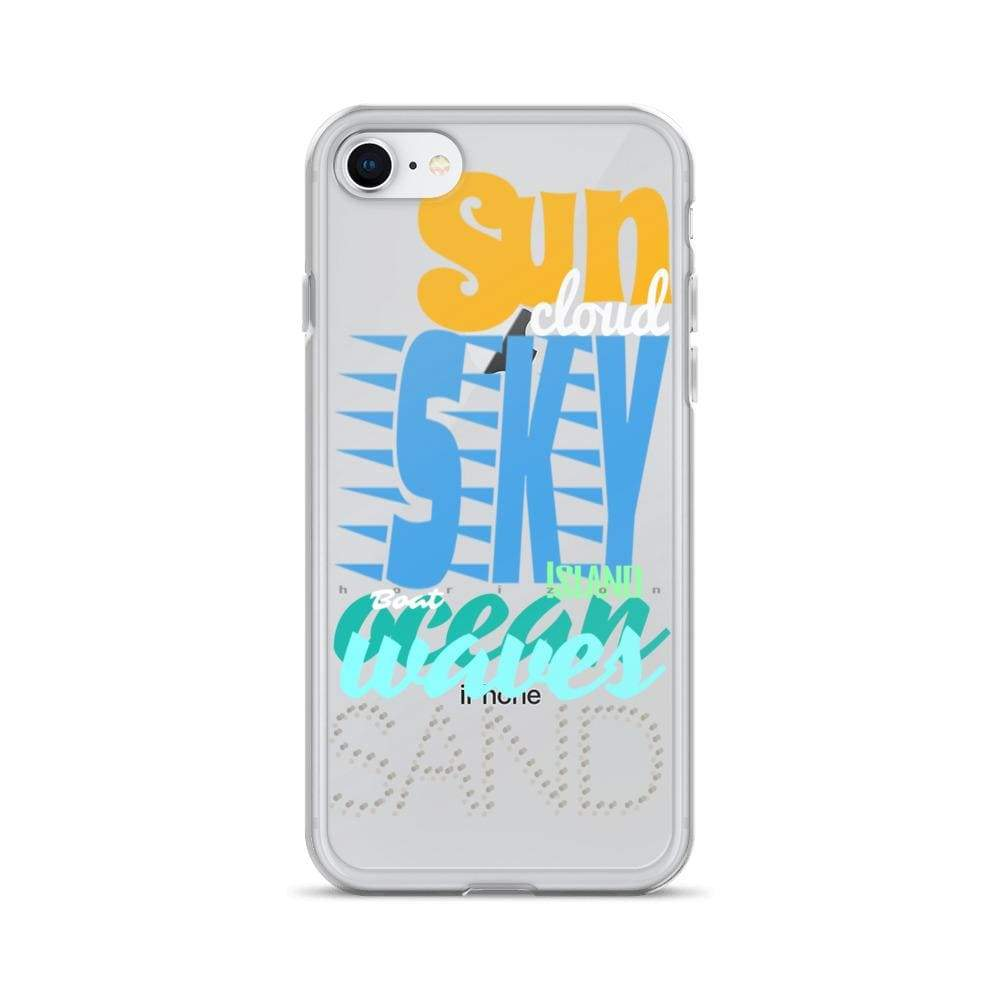 Plumskum iPhone 7/8 Imagination Beach iPhone Cases