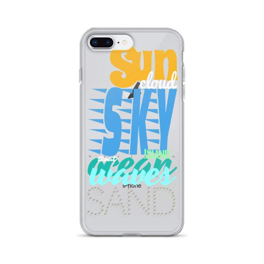 Plumskum iPhone 7 Plus/8 Plus Imagination Beach iPhone Cases