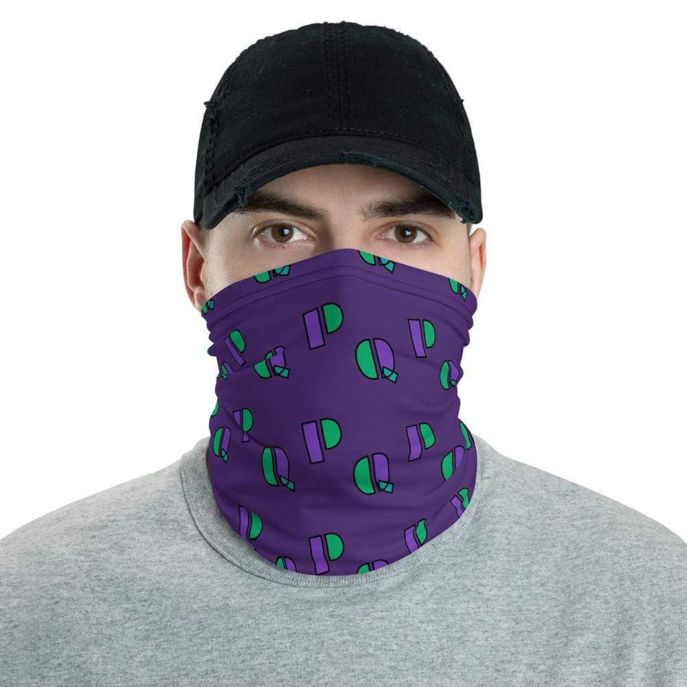 Plumskum P's & Q's Protective Face Mask|Neck gaiter|Headband