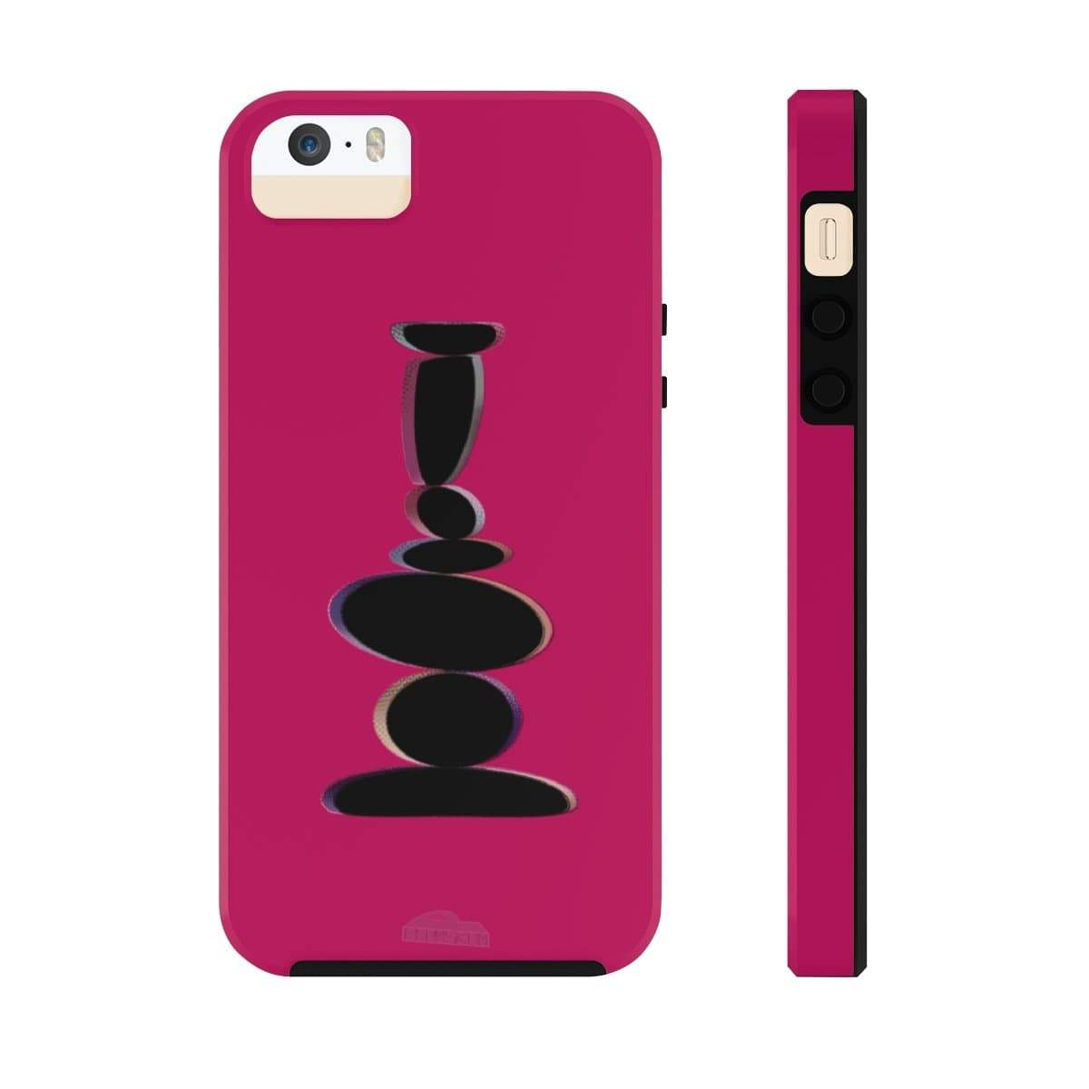 Plumskum Phone Case iPhone 5/5s/5se Tough Plumskum Zen Balance Artwork Phone Case